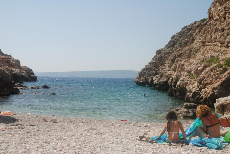 Kokkino Chorio beach cove
