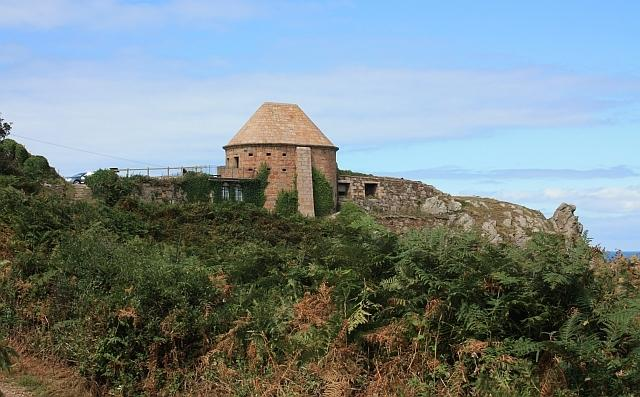 La Crete Fort on the north coast of Jersey