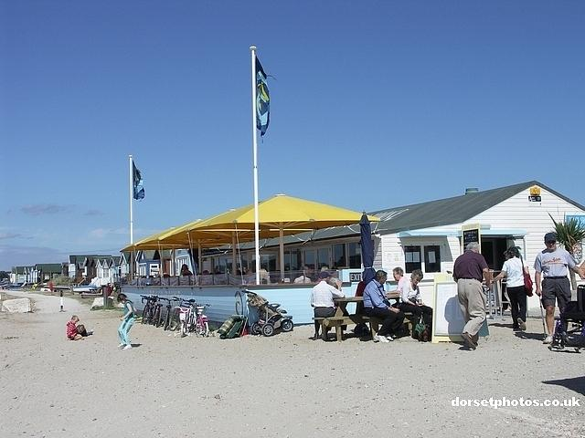 One of the beach cafe's