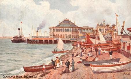 Clarence Pier Southsea early 1900's