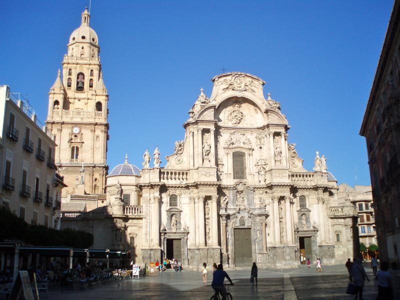 Main Cathedral in Murcia City