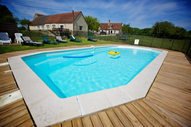 Matounet Field Heated Pool In Summer Heated Pool In Summer