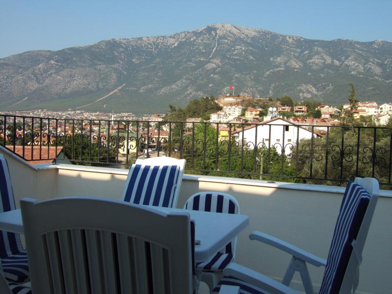 the fabulous views from the roof terrace