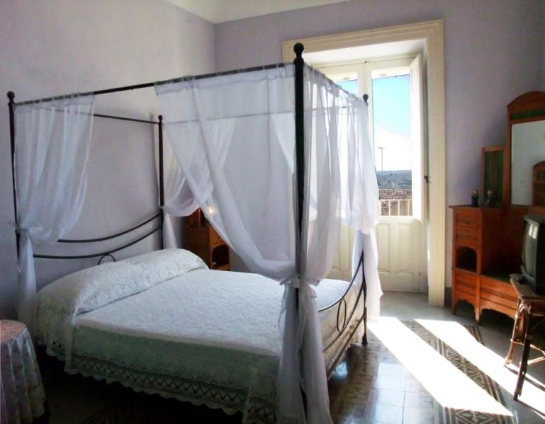 The first bedroom  with view, tastefully decorated for extra comfort and elegance