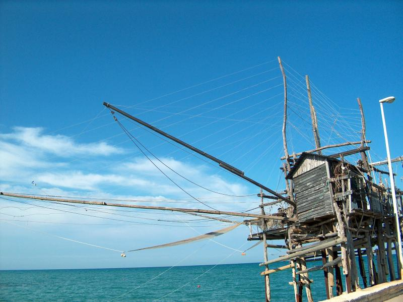 Traboccho (wooden fishing contraption)