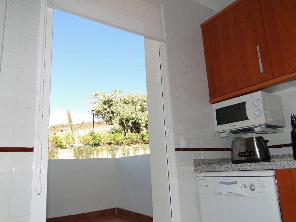 Keuken en een tweede terras