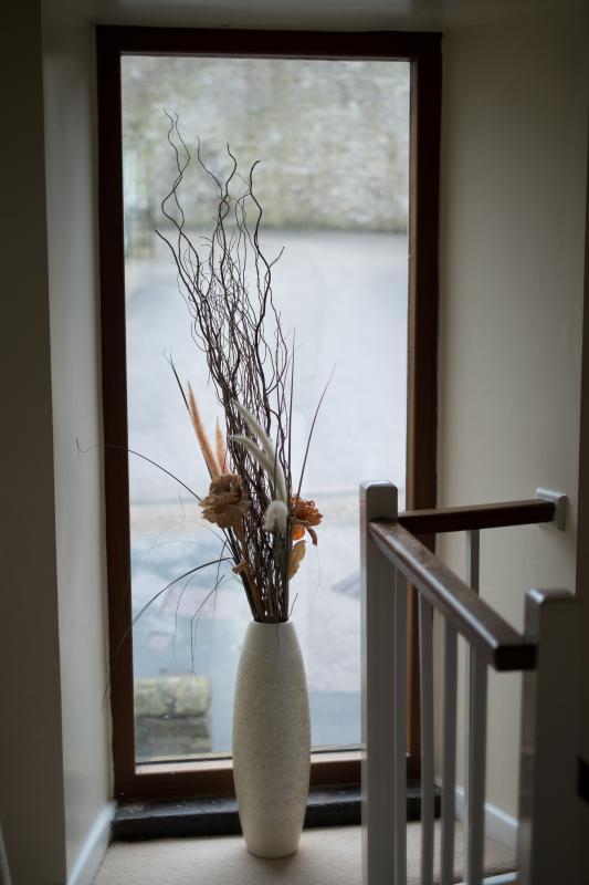 Upper hallway window