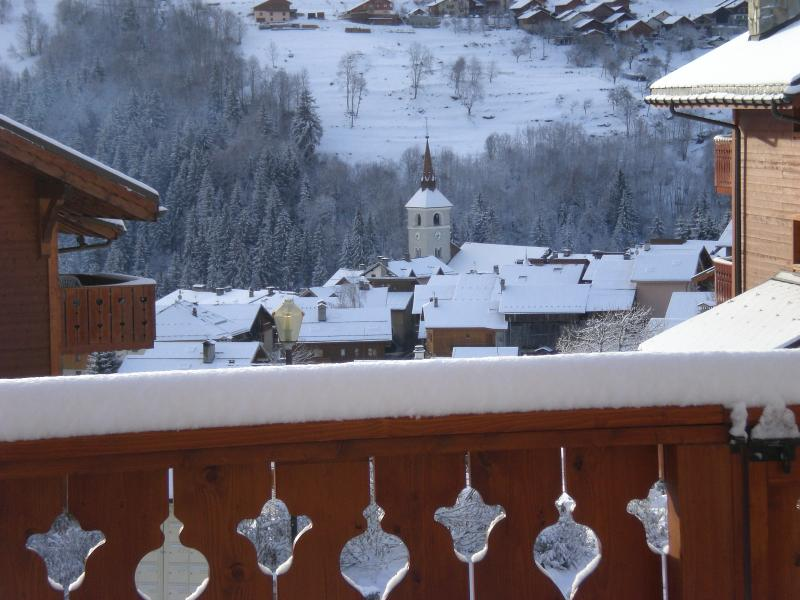 The view of the village from the terrace