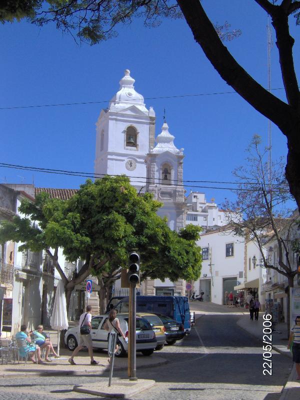 Golden Church as seen on postcards