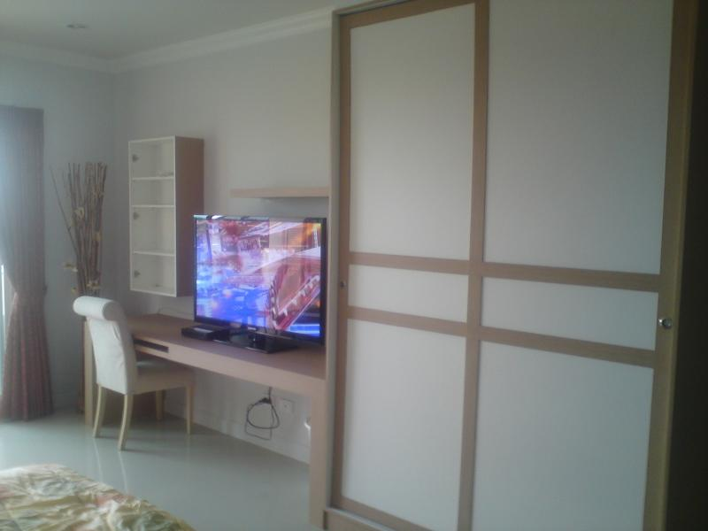 Tv and cabinets