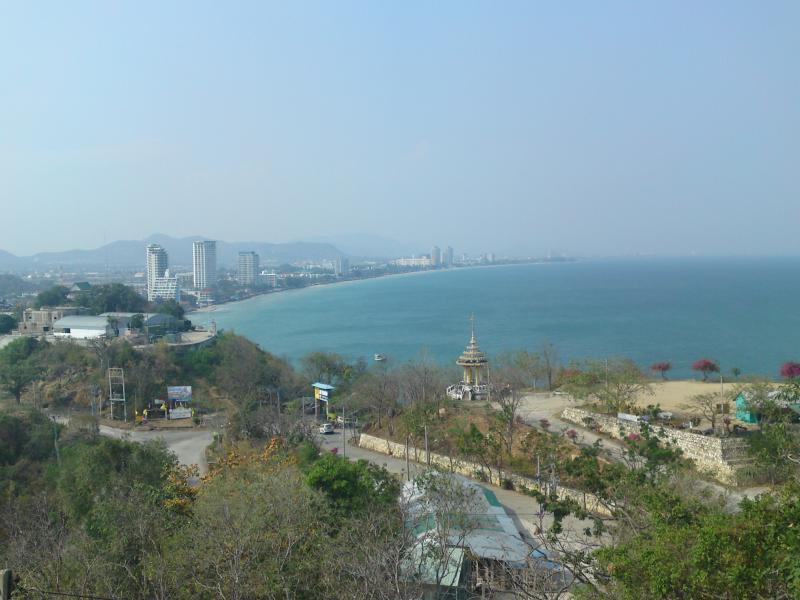 Hua Hin from above