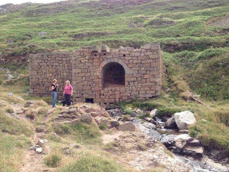 Old mine workings in the Kenidjack Valley, close to St. Just - part of the mining heritage
