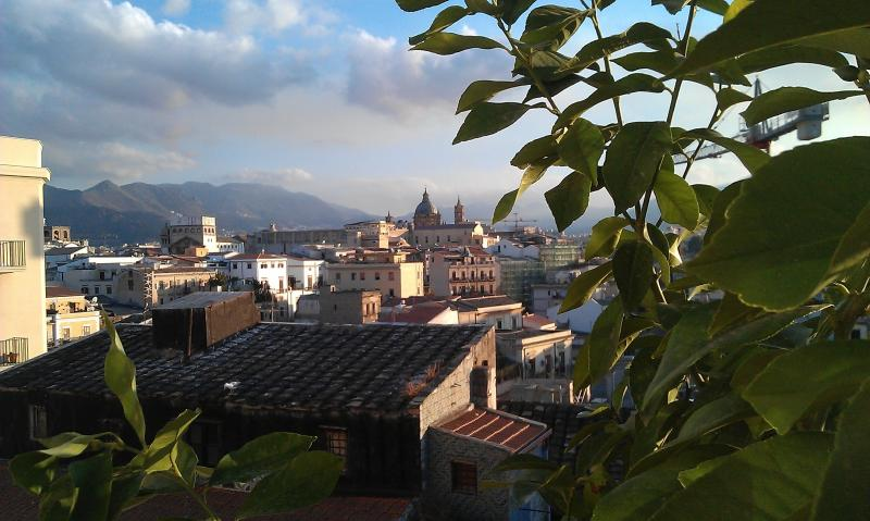 Charming rooftop apartment, holiday rental in Palermo