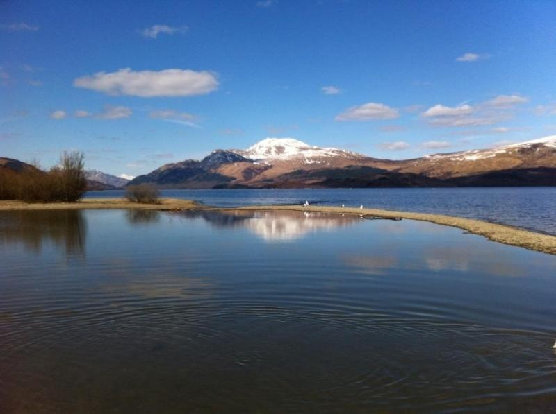 Beautiful Ben Lomond on a winters day