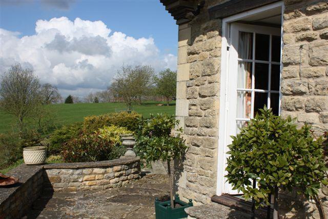 Garden Room Terrace entrance