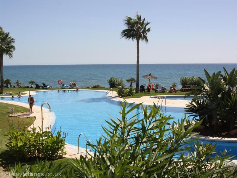 View of main pool