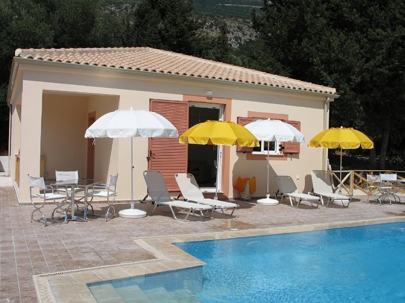 Villa Amoudia em Lourdas, Kefalonia