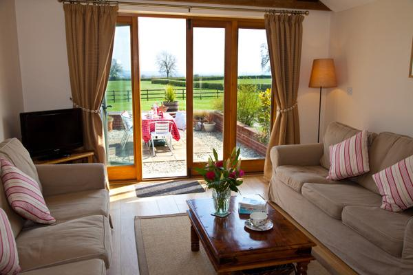 Tickleberry Sitting room, and glorious countryside views....bliss....