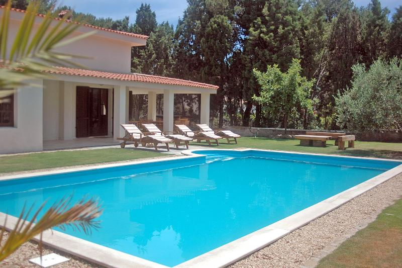 Villa Vico del Porto with 10m x 5m pool