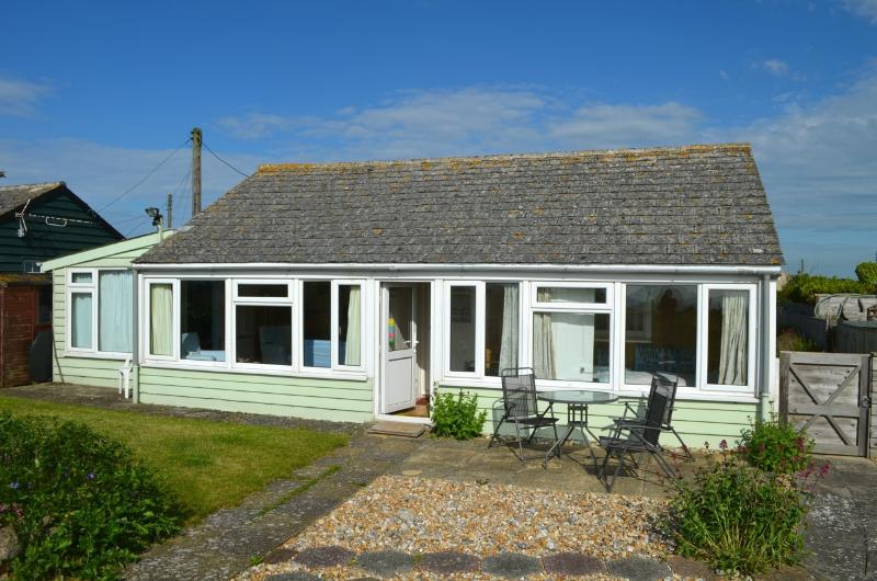 1920's wooden chalet built originally to provide holidays by the sea for cubs and brownies.