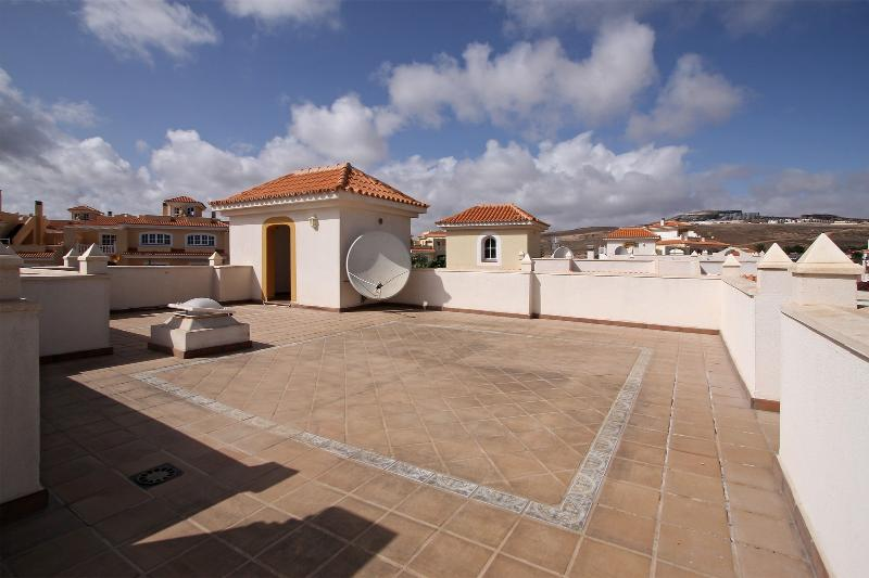 Roof Terrace Tanning Area with Shower Room