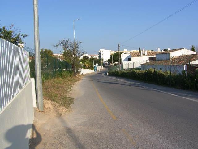 Road outside the Villa