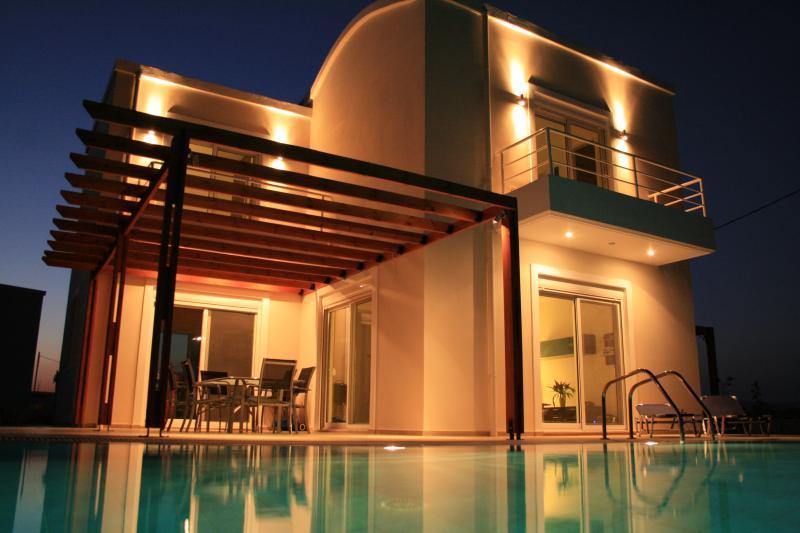Villa Petalutha by night