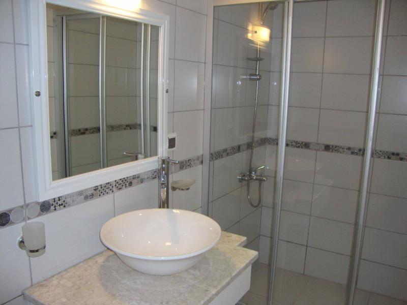 One of the two en suite shower rooms (plus an extra cloakroom on the ground floor)