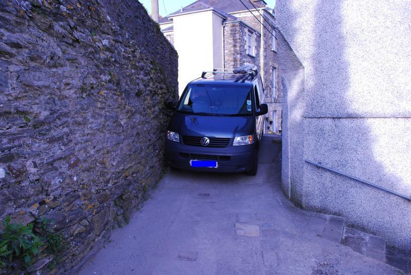 Sortir à l'aire de stationnement