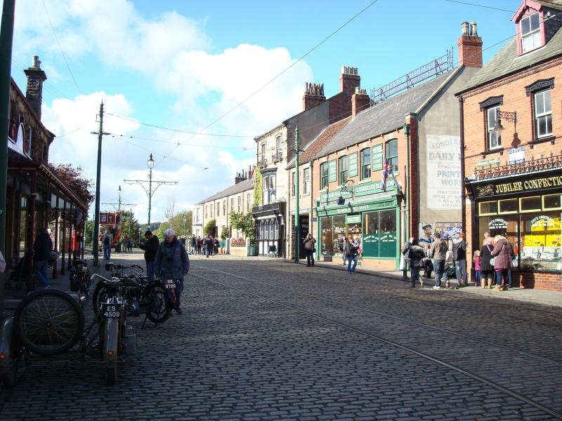 Step back in time in Beamish Museum High Street - a wonderful day out