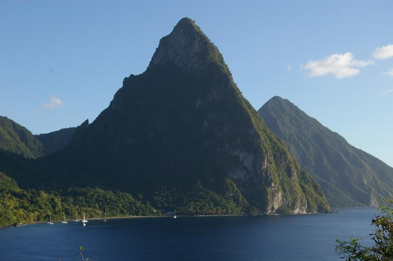 The Pitons - a World Heritage Site