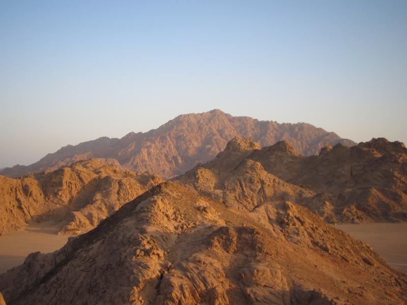 Mountains of the Sinai Desert, amazing scenery all on your doorstep