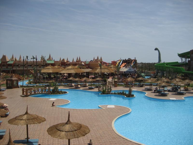 Try the rides at the Aqua park, fun for all the family