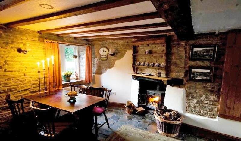 Blodeuwedd Cottage (romantic cosy holiday cottage on English/Welsh border), vacation rental in Titley