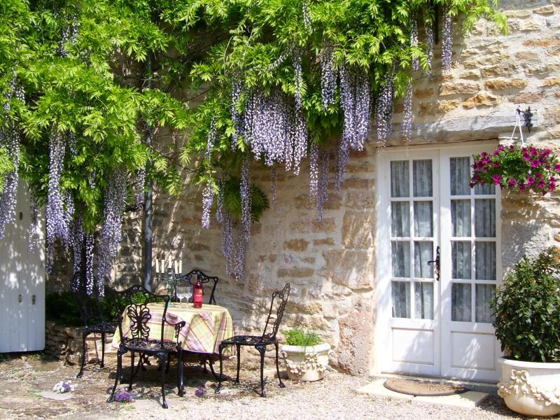 Cottage Entrance - Closeup