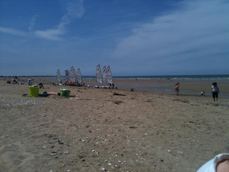 The beach and sandboarding