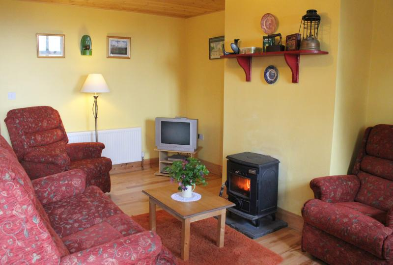 Cosy Sittingroom with log burning stove