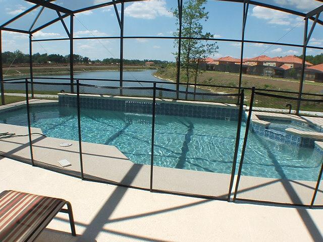 Villa di lusso optional safety pool screen