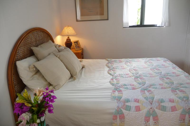The double bedroom is en suite