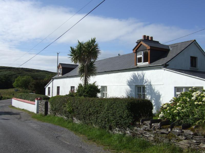 The cottage is one of a pair once owned by The Knight of Kerry