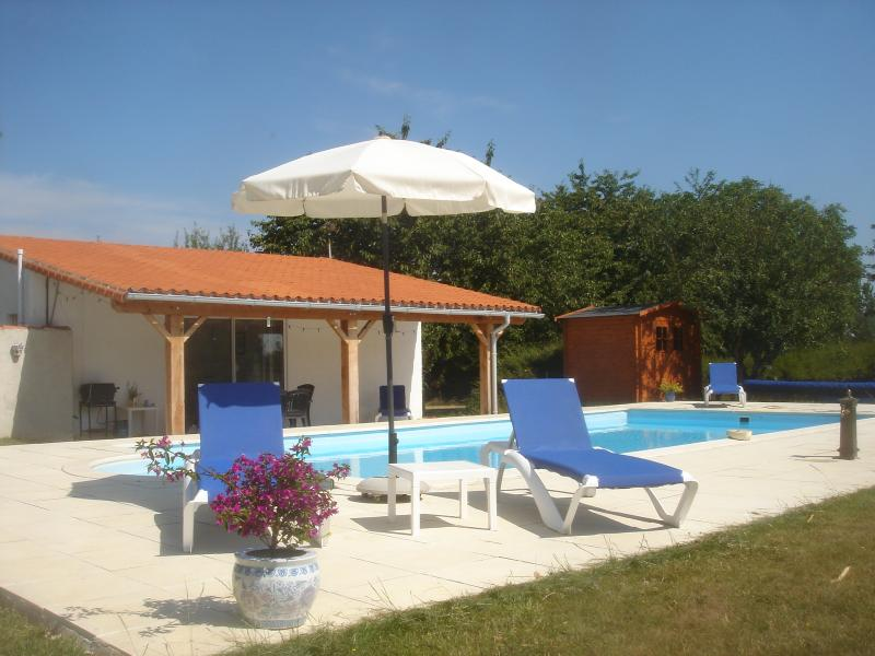 Pool Area & Chalet