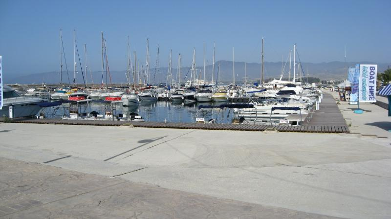 The lovely Latchi Marina 30 minutes drive away if you fancy tasting some superb seafood