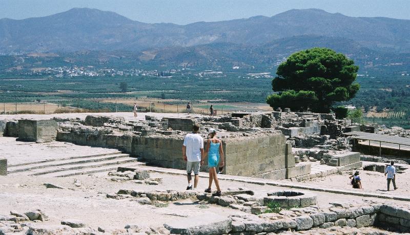 Faestos ancient site