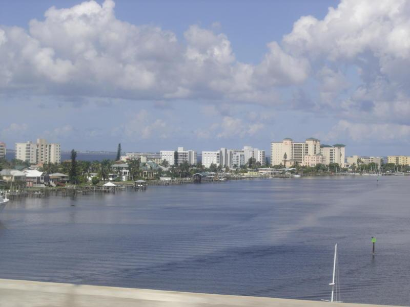 View from the Cape Coral Bridge