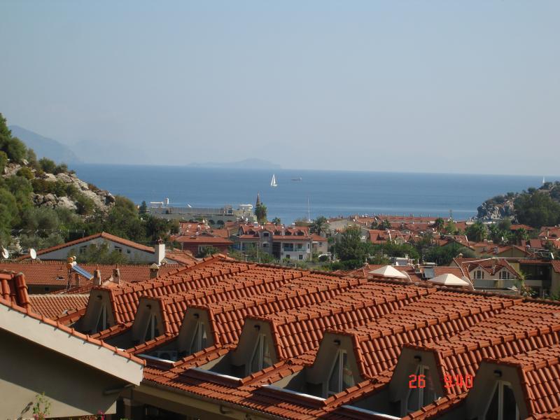 Vista al mar desde el balcón del dormitorio principal