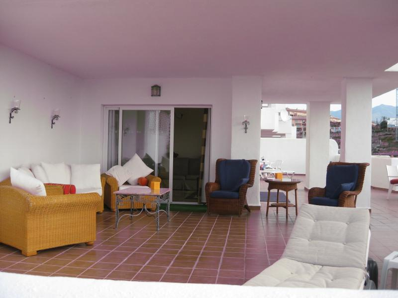Huge Terrace to Relax and Dine on. 144 sq mts - glorious !!