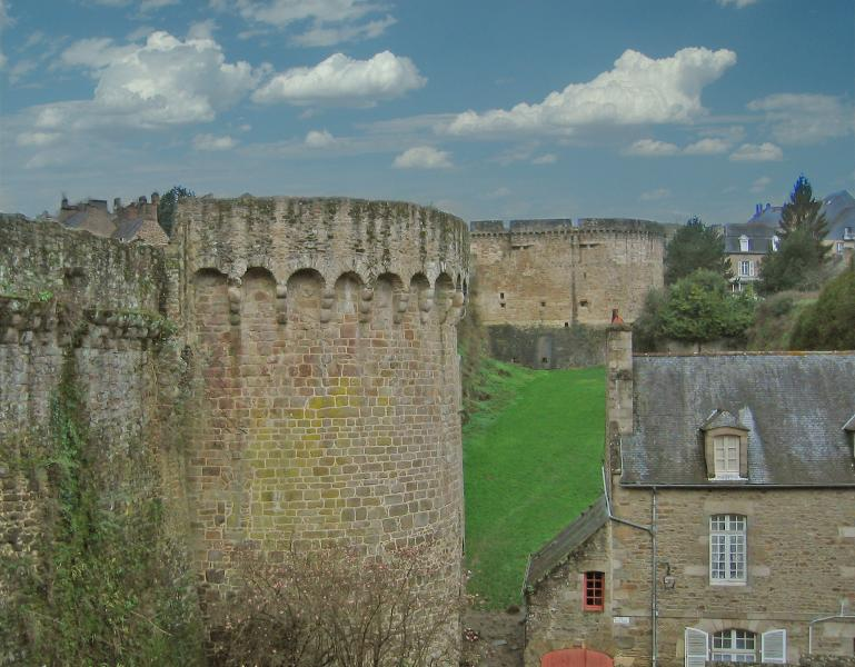 Your view from 'Villa des Remparts'.