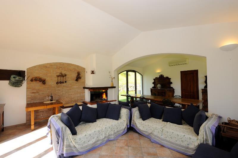 the communal lounge