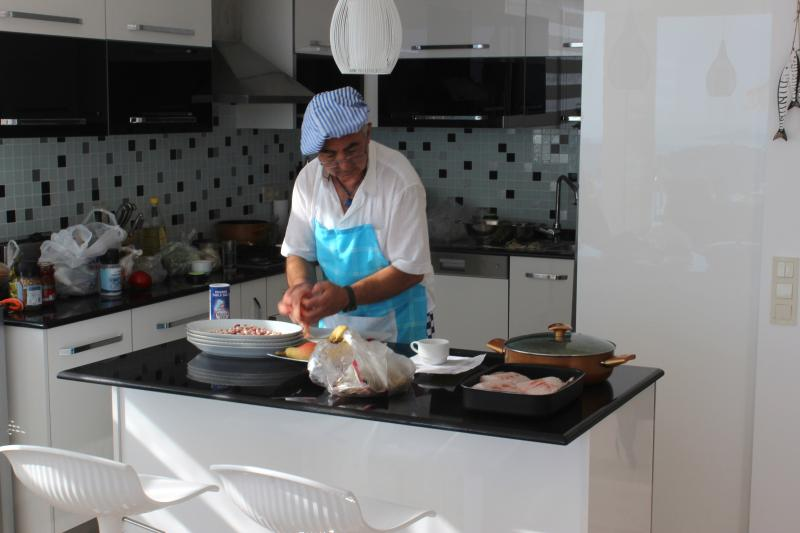 Why not hire a Chef at home, Kasim is fantastic!