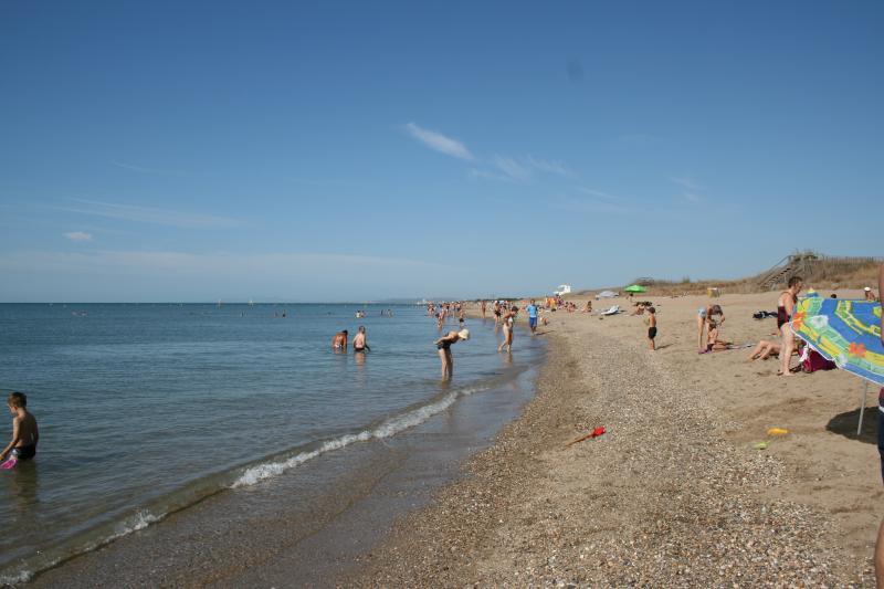 Ouest Plage, a praia de bandeira azul local